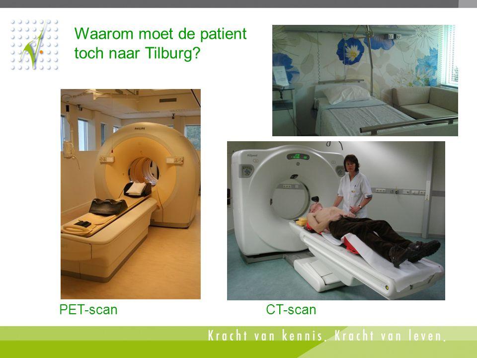 Waarom moet de patient toch naar Tilburg