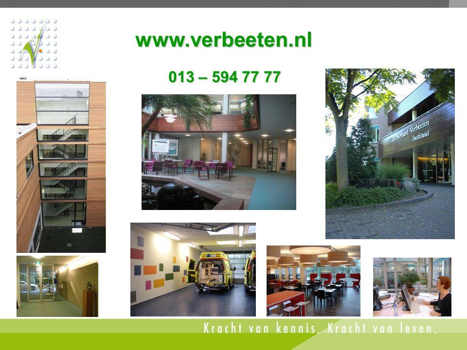 www.verbeeten.nl 013 – 594 77 77