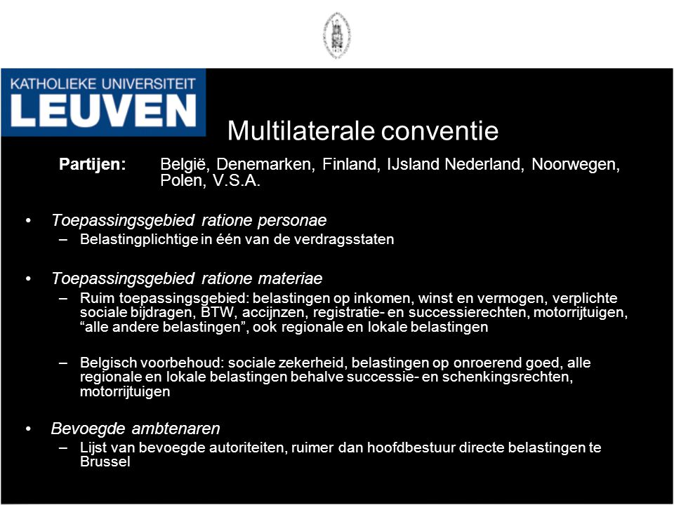 Multilaterale conventie