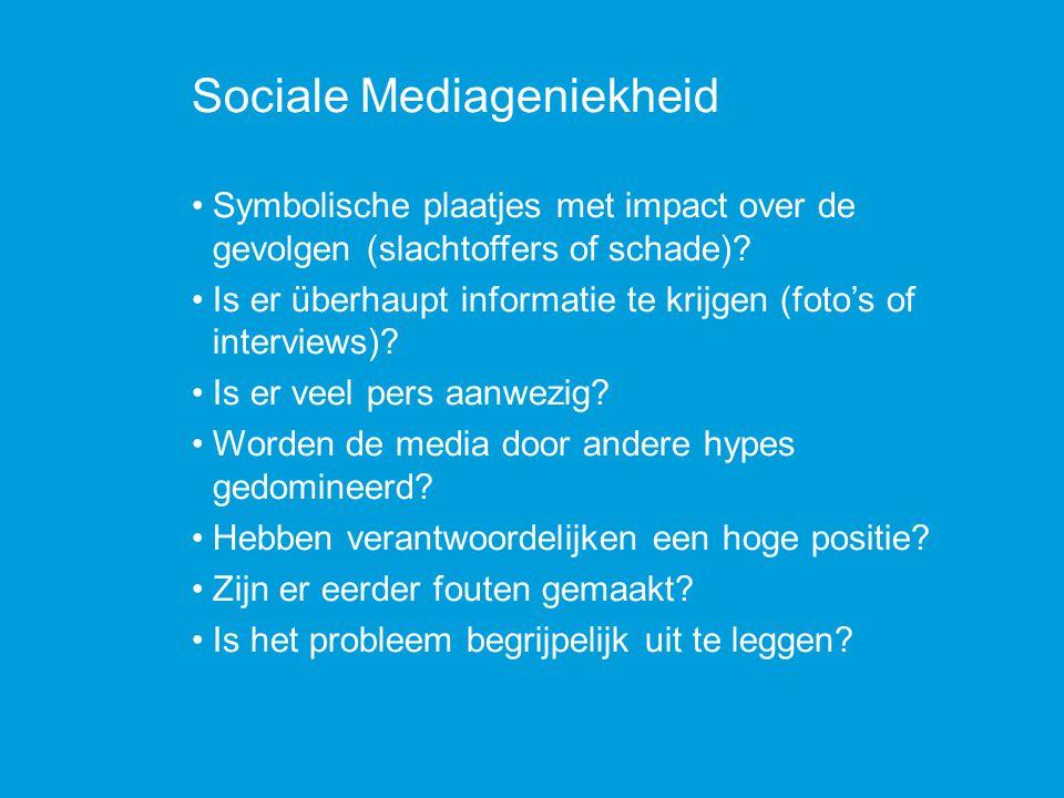 Sociale Mediageniekheid