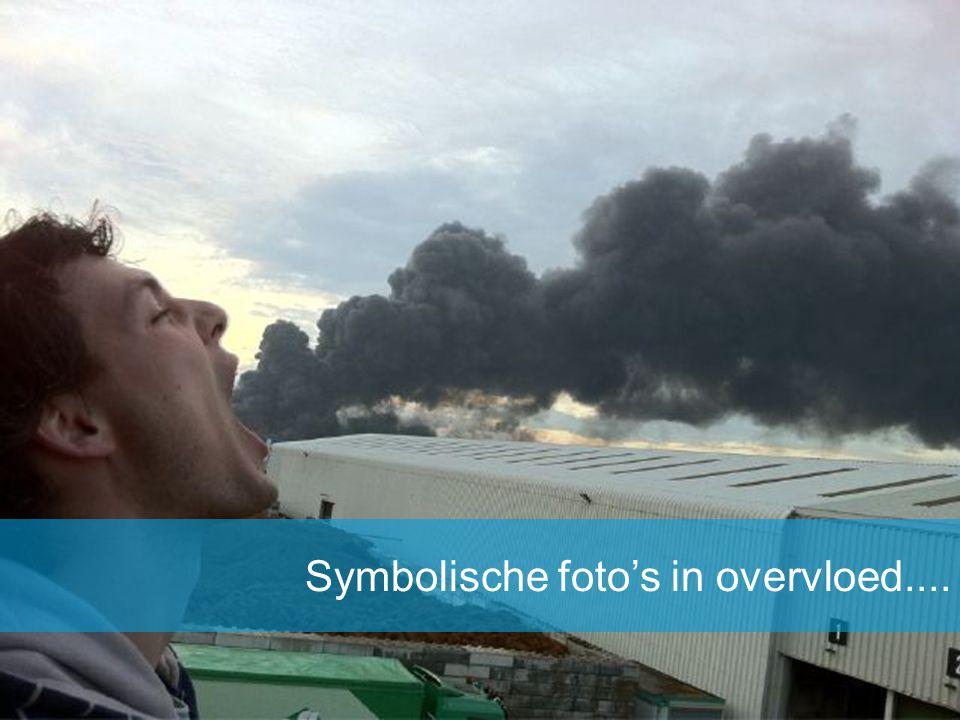 Symbolische foto's in overvloed....