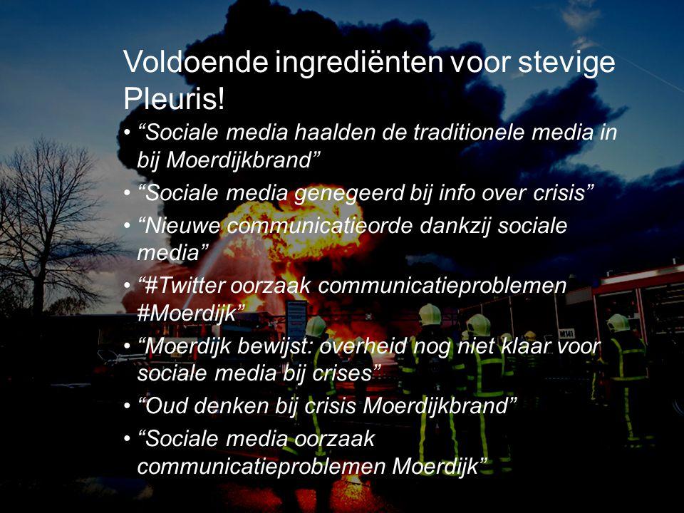 Voldoende ingrediënten voor stevige Pleuris!