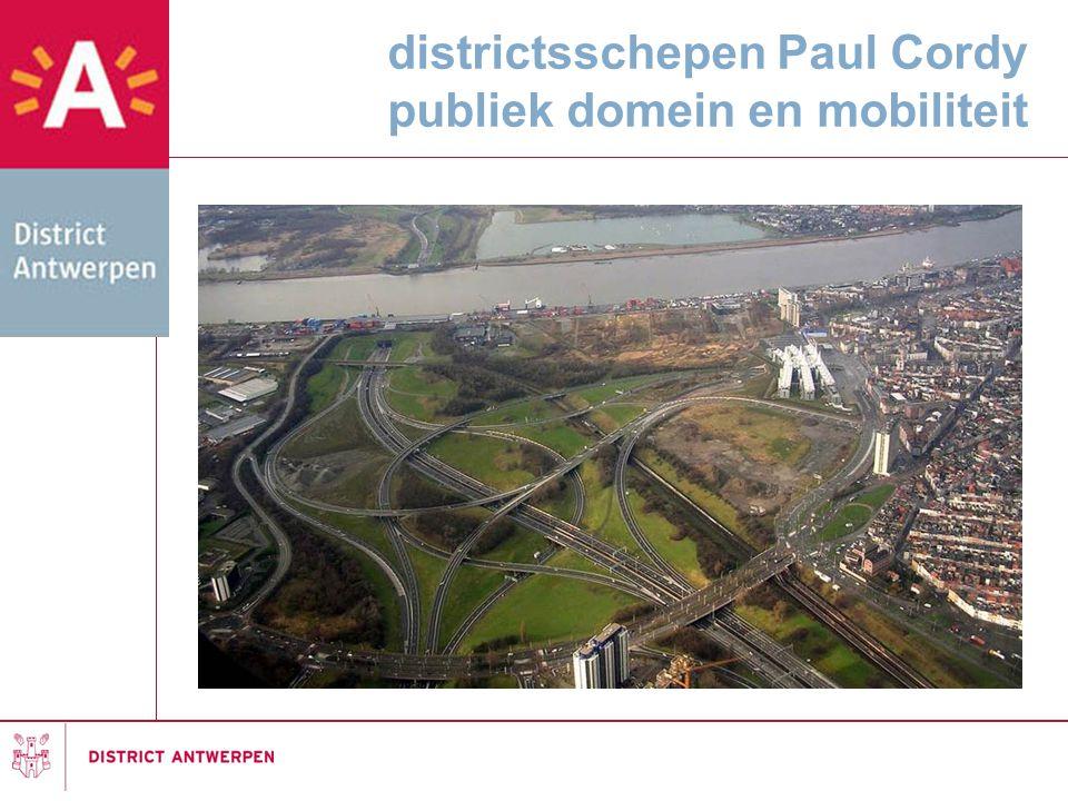 districtsschepen Paul Cordy publiek domein en mobiliteit
