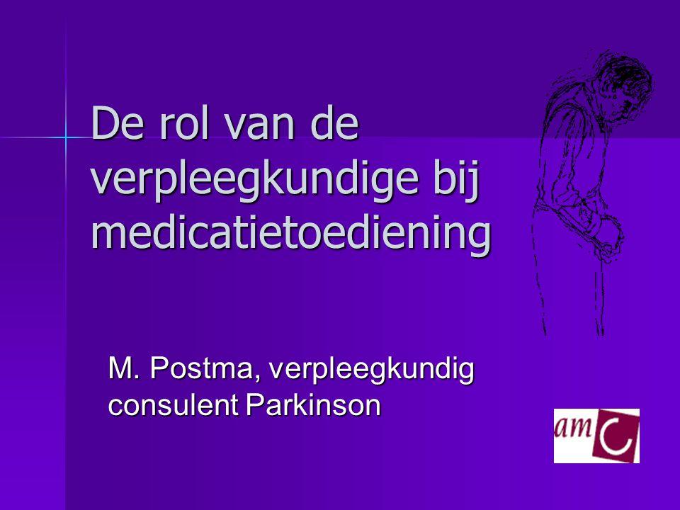 De rol van de verpleegkundige bij medicatietoediening
