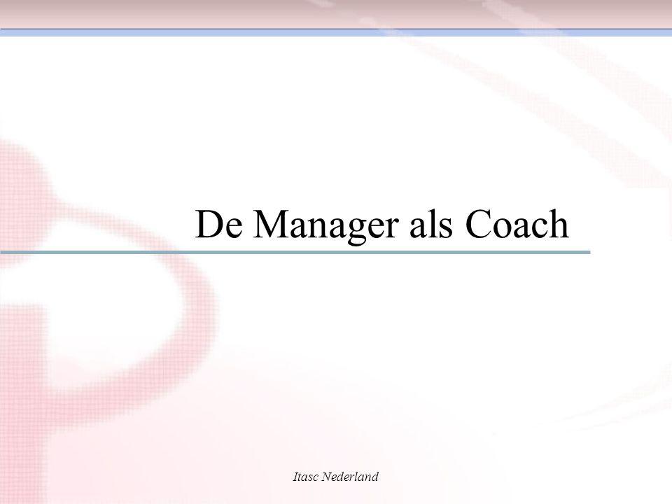 De Manager als Coach Itasc Nederland