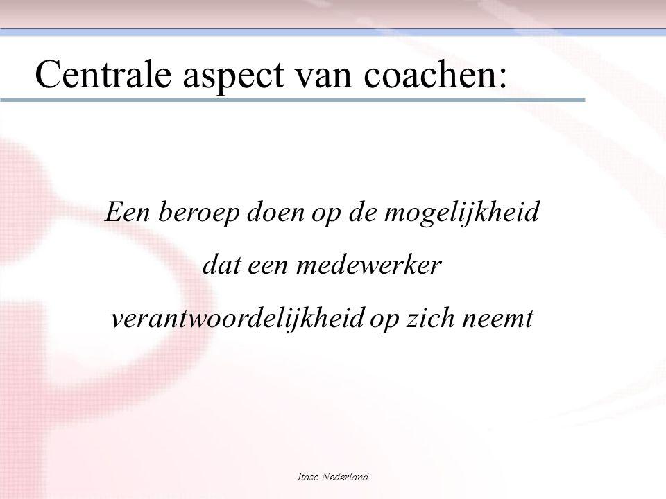 Centrale aspect van coachen: