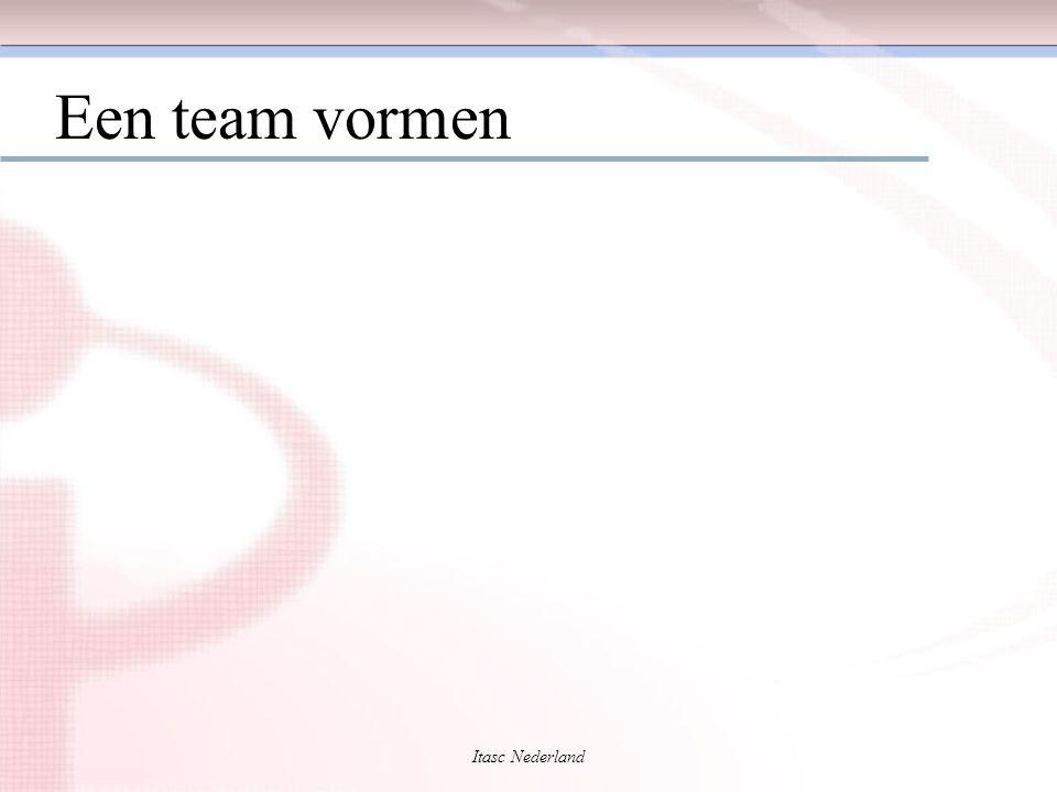 Een team vormen Itasc Nederland