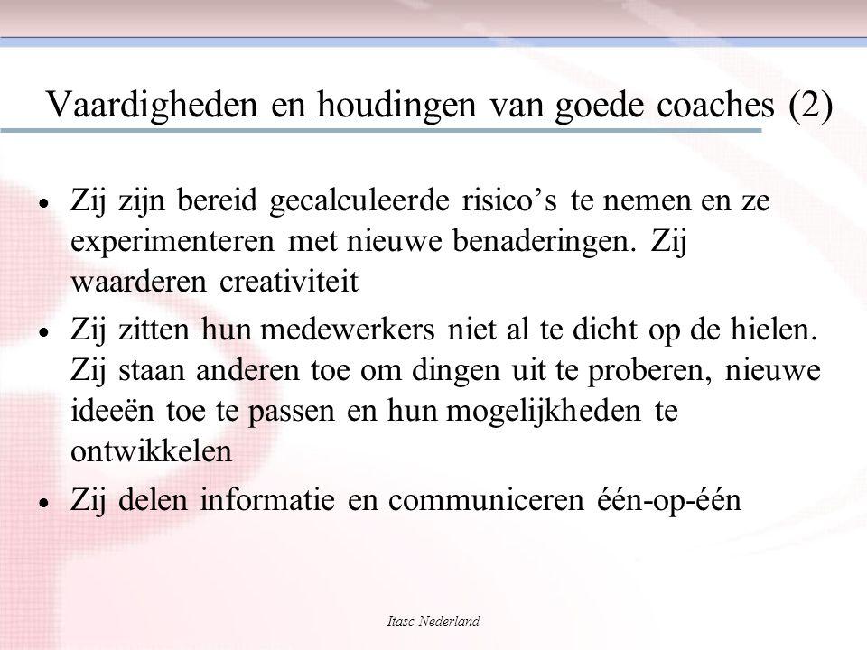 Vaardigheden en houdingen van goede coaches (2)