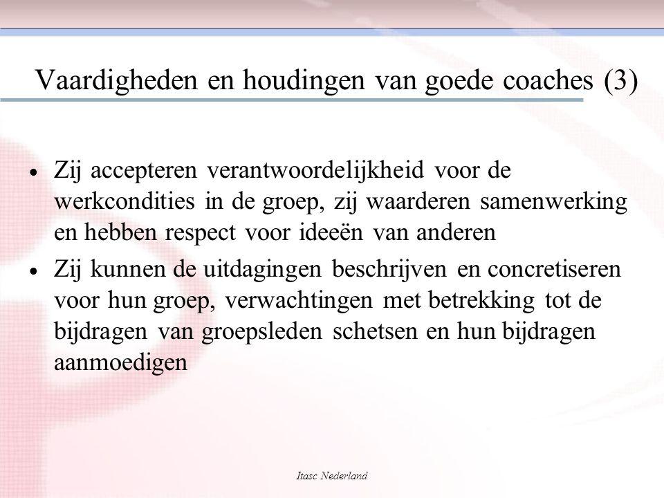 Vaardigheden en houdingen van goede coaches (3)