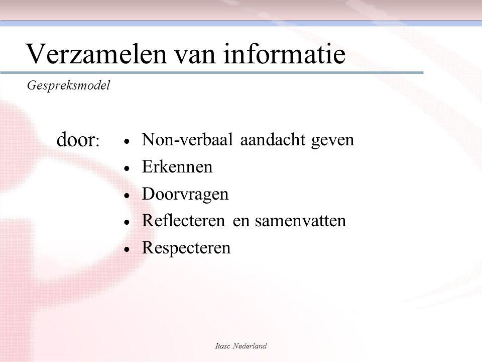 Verzamelen van informatie