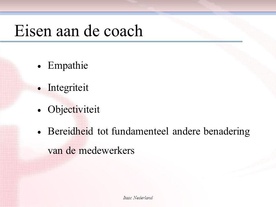 Eisen aan de coach Empathie Integriteit Objectiviteit