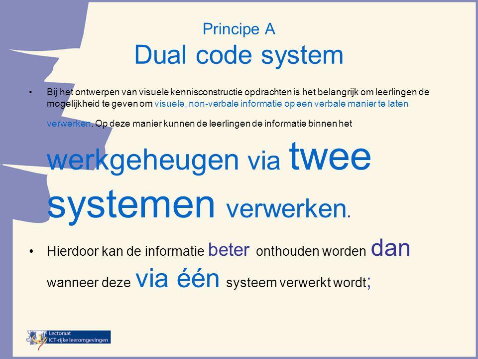 Principe A Dual code system
