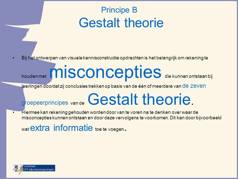 Principe B Gestalt theorie