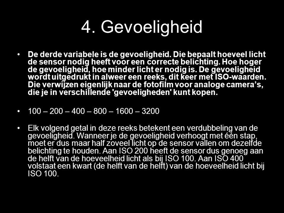 4. Gevoeligheid