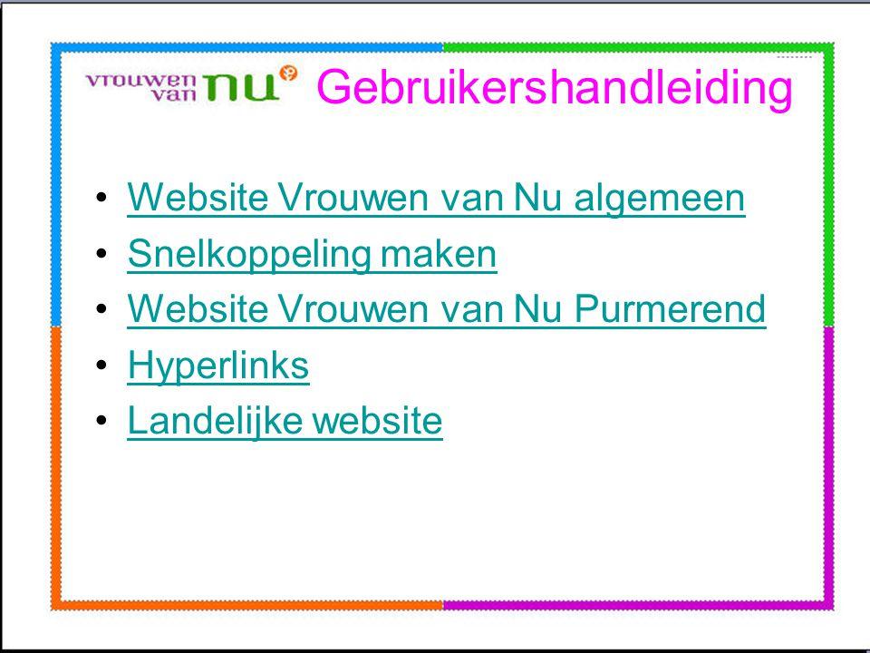 Gebruikershandleiding