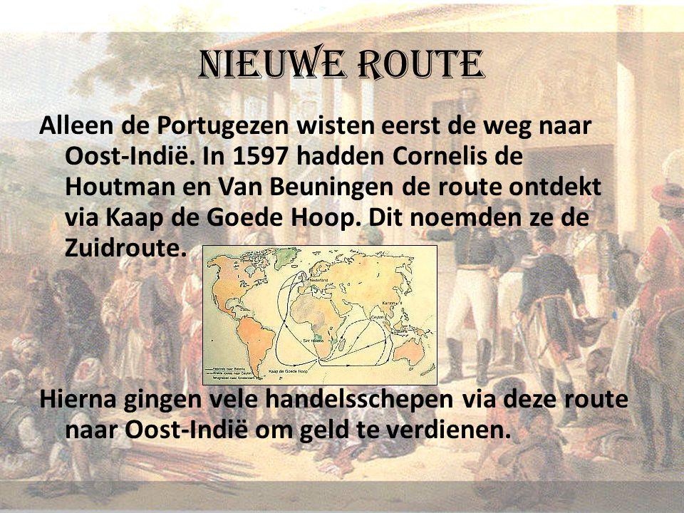 Nieuwe route