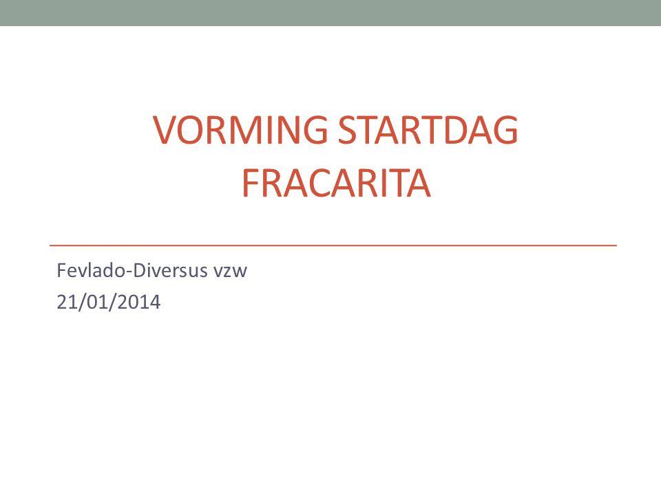 VORMING STARTDAG FRACARITA