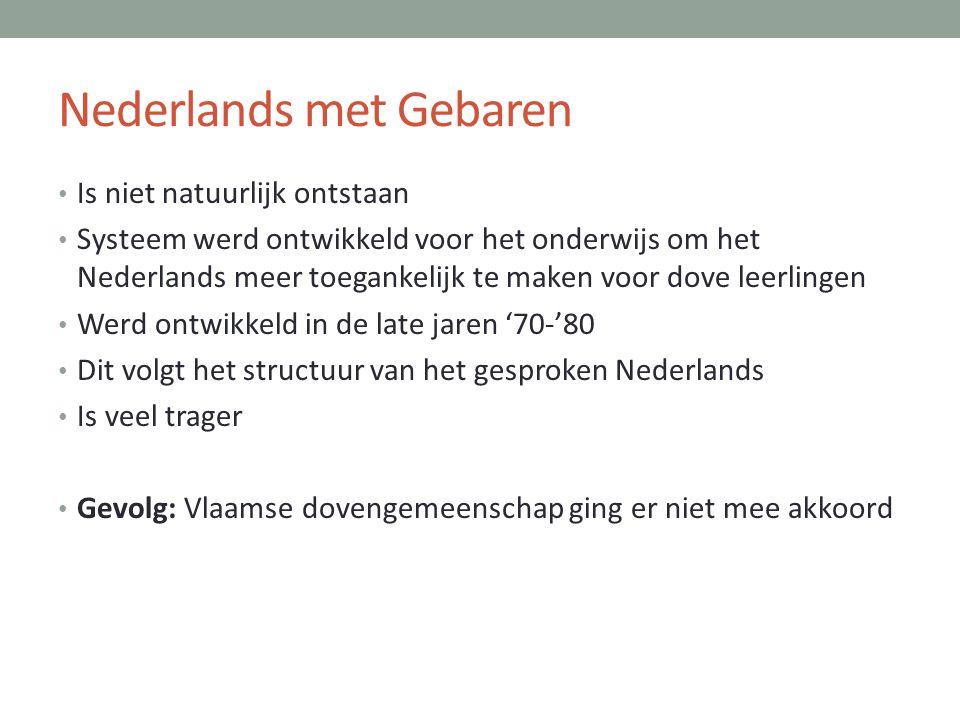Nederlands met Gebaren