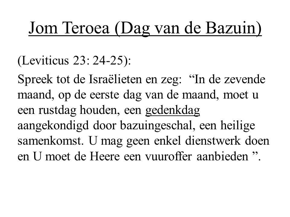 Jom Teroea (Dag van de Bazuin)