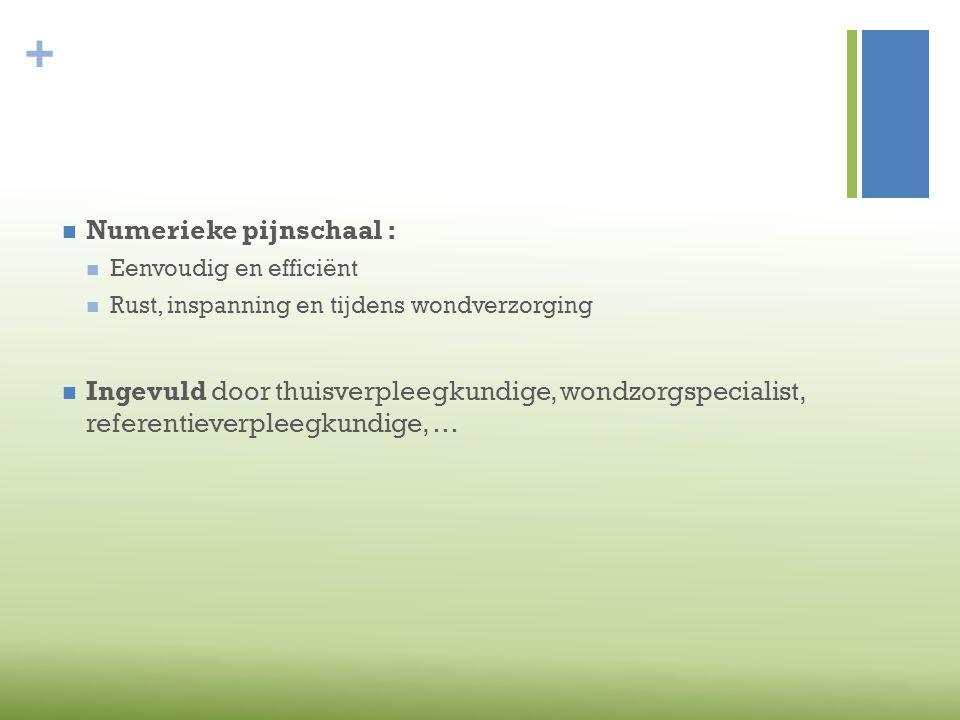 Numerieke pijnschaal :