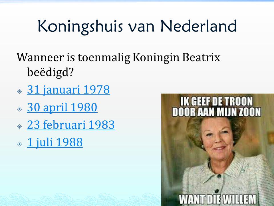 Koningshuis van Nederland