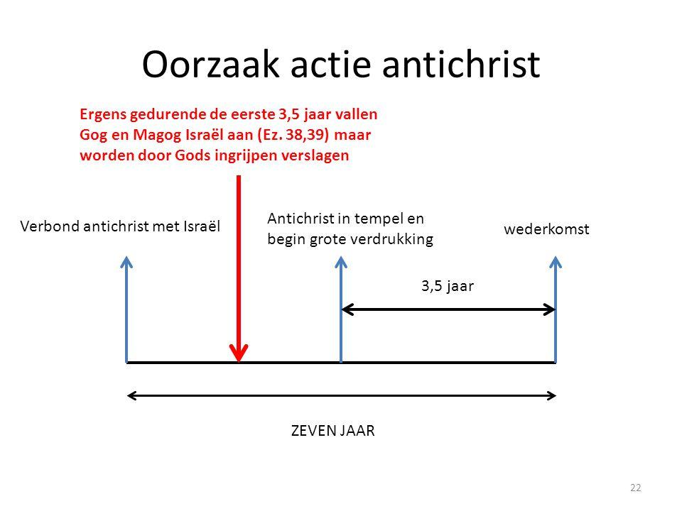 Oorzaak actie antichrist