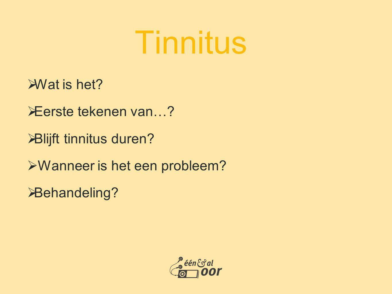 Tinnitus Wat is het Eerste tekenen van… Blijft tinnitus duren