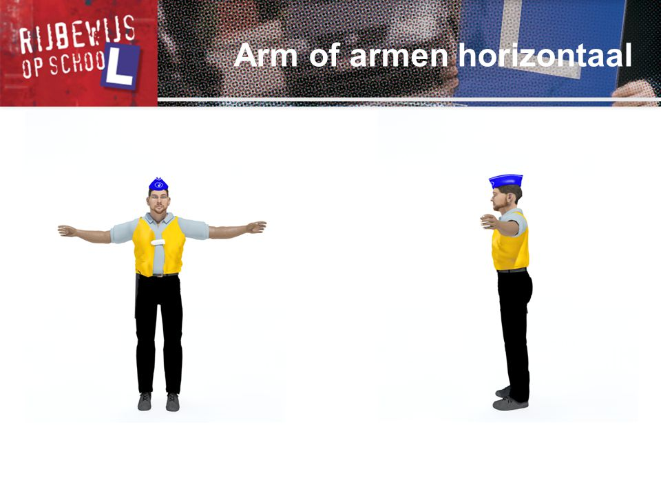 Arm of armen horizontaal