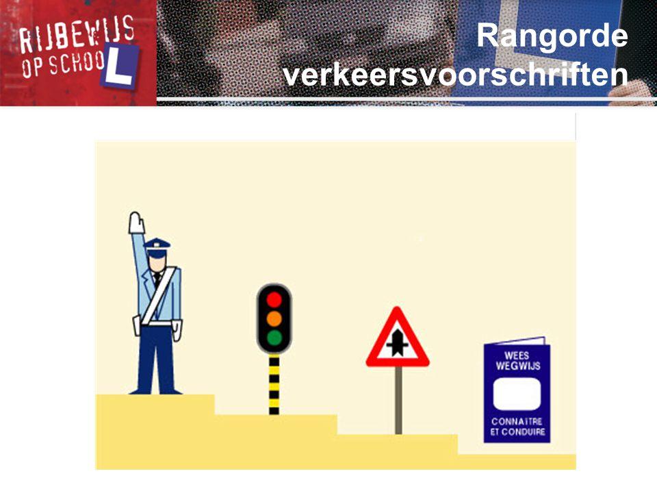 Rangorde verkeersvoorschriften