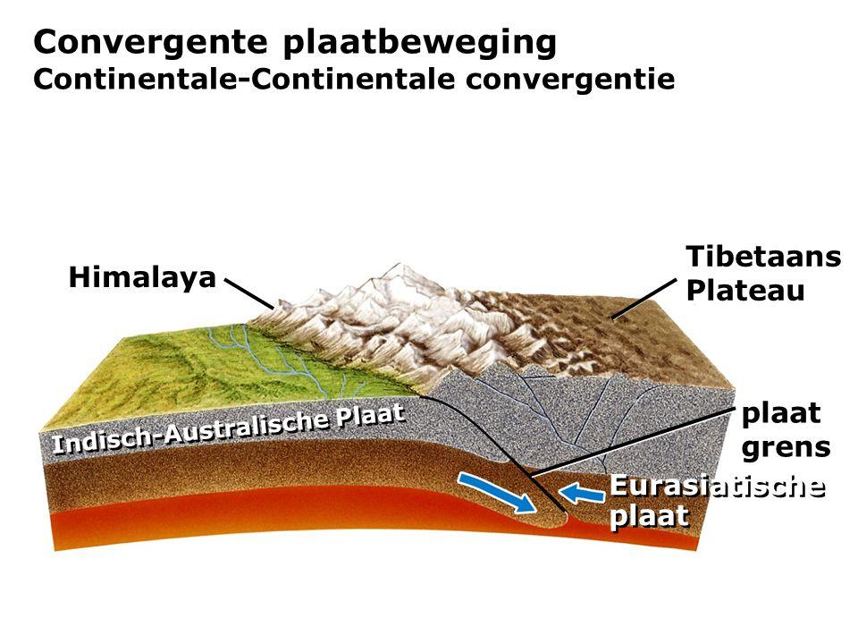 Convergente plaatbeweging