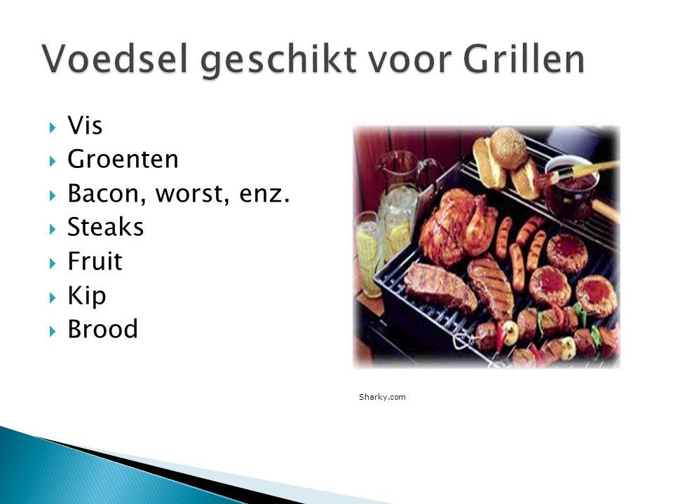 Voedsel geschikt voor Grillen