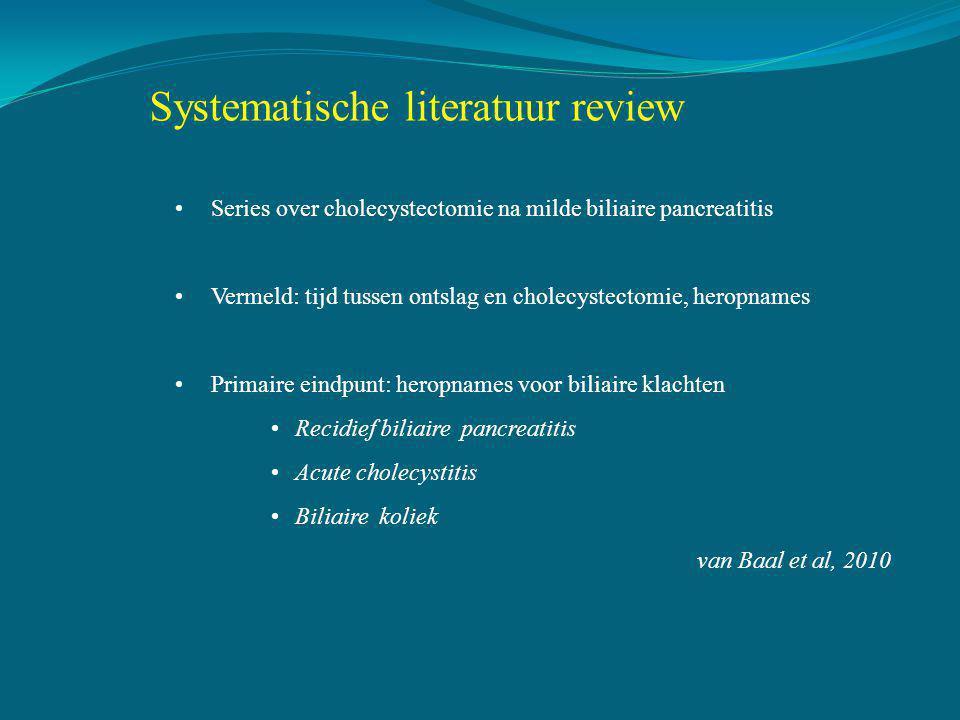 Systematische literatuur review