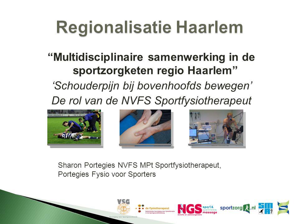 Regionalisatie Haarlem