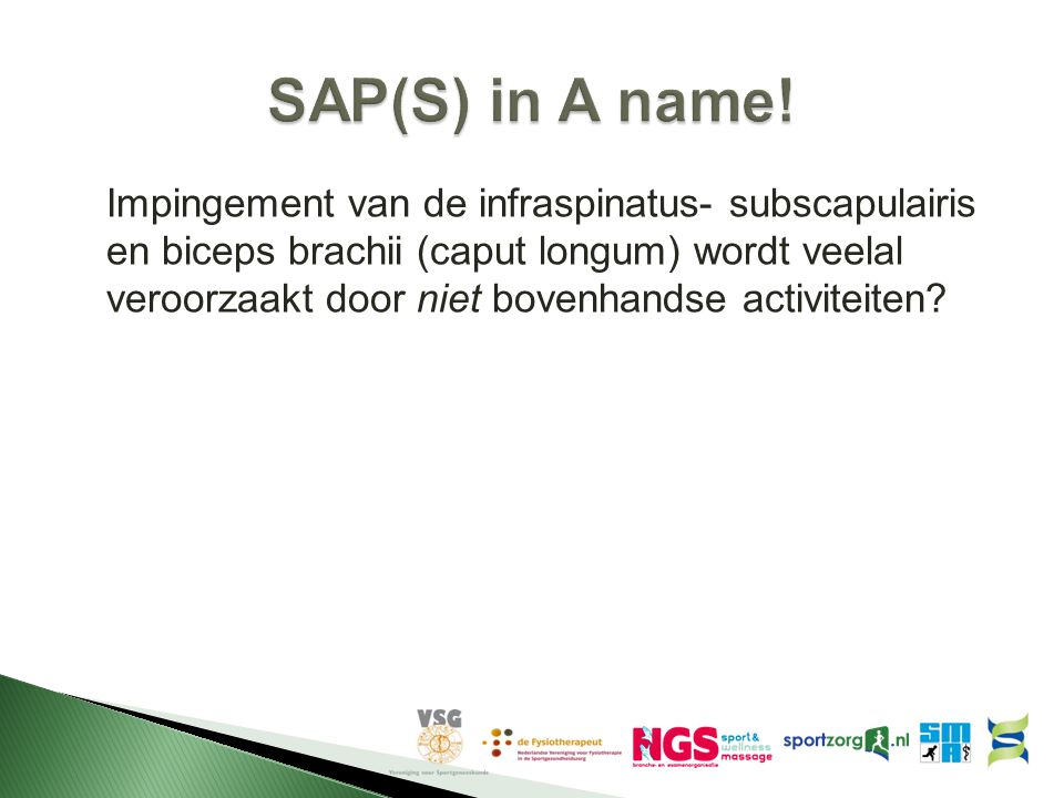 SAP(S) in A name!