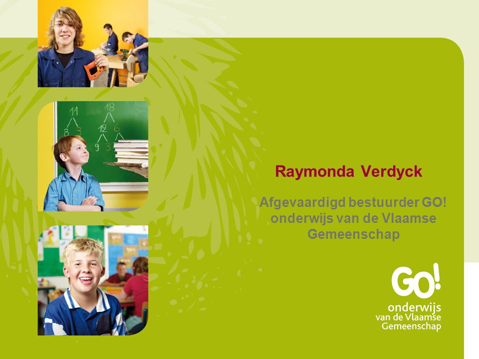 Afgevaardigd bestuurder GO! onderwijs van de Vlaamse Gemeenschap