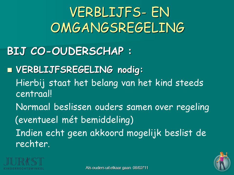 VERBLIJFS- EN OMGANGSREGELING