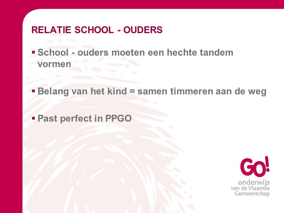 RELATIE SCHOOL - OUDERS