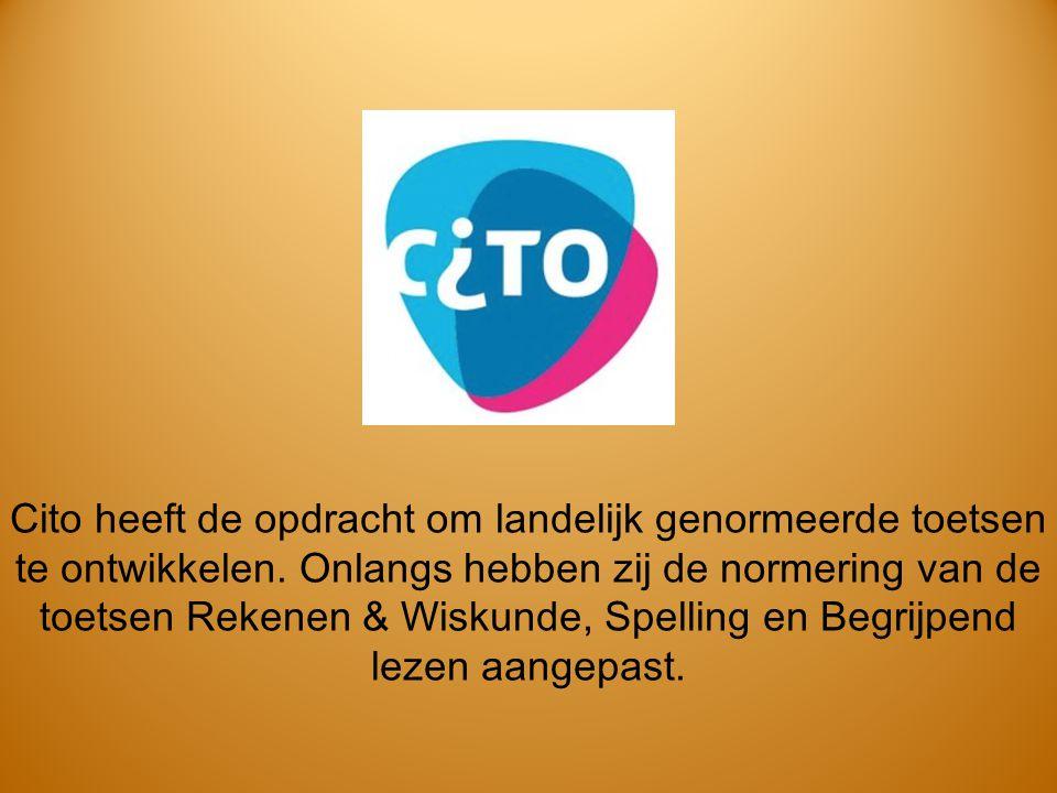 Cito heeft de opdracht om landelijk genormeerde toetsen te ontwikkelen