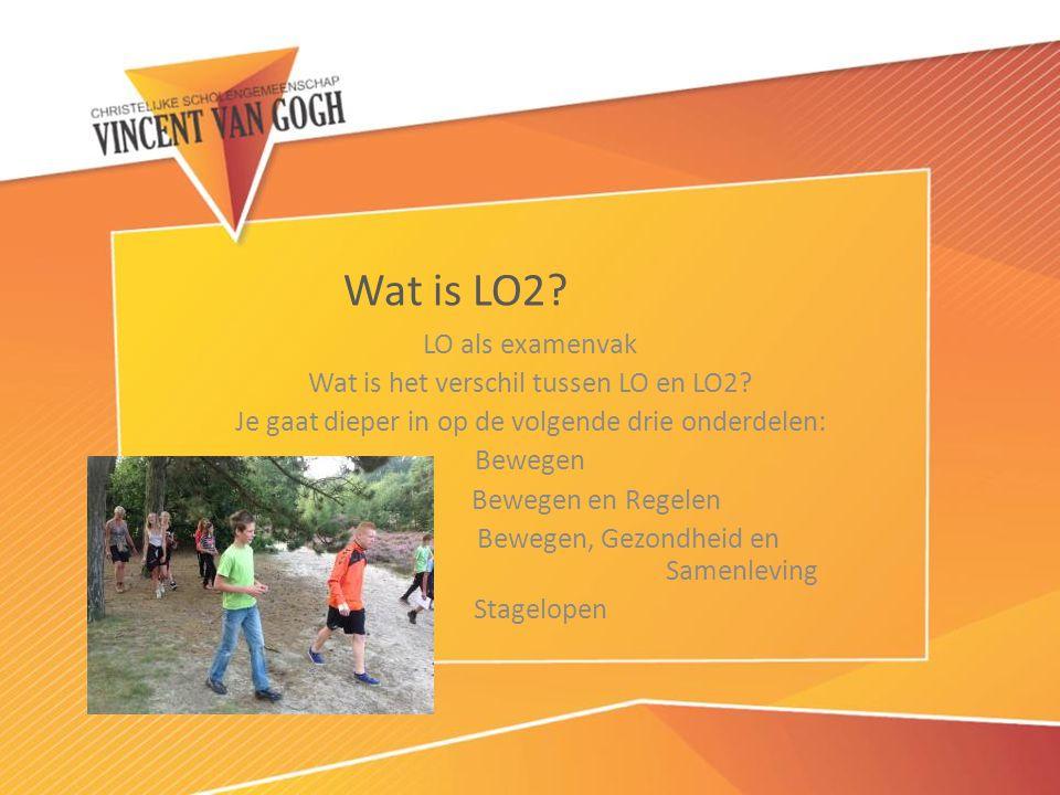 Wat is LO2 LO als examenvak Wat is het verschil tussen LO en LO2