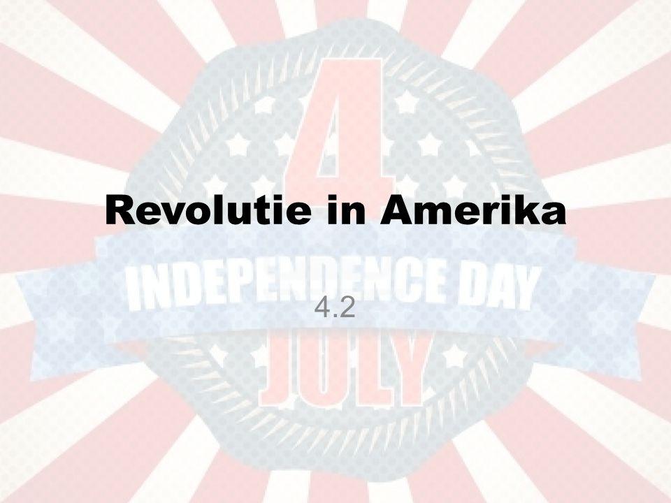 Revolutie in Amerika 4.2