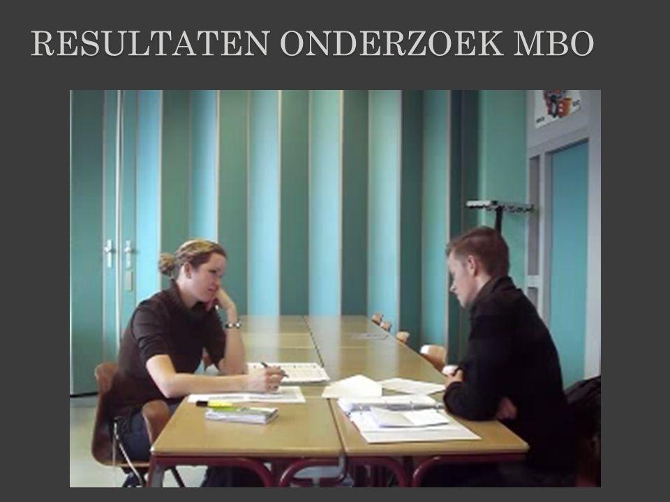 Resultaten onderzoek MBO