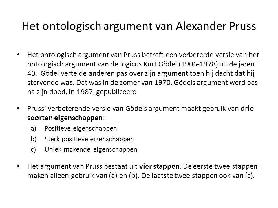 Het ontologisch argument van Alexander Pruss