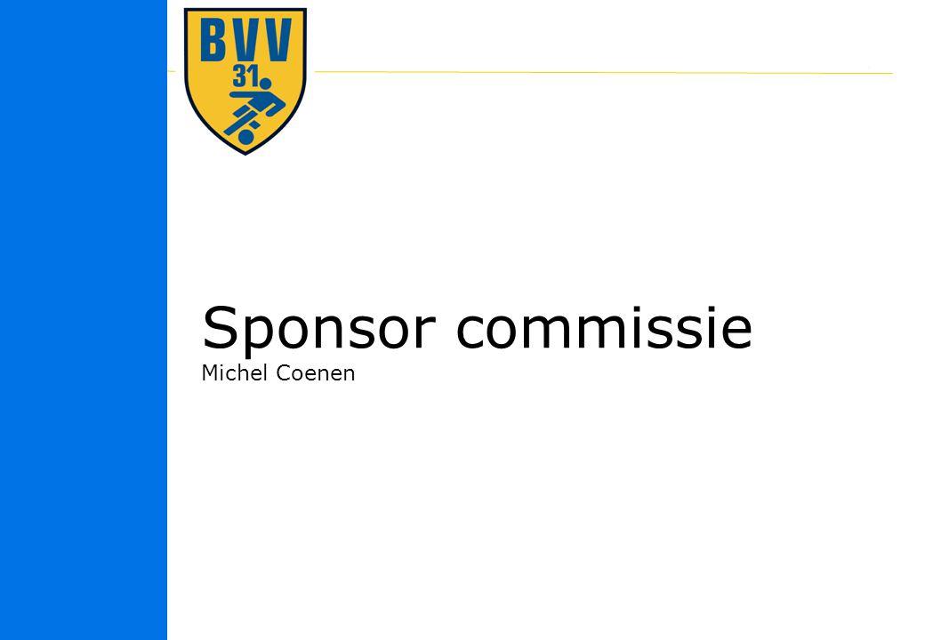 Sponsor commissie Michel Coenen