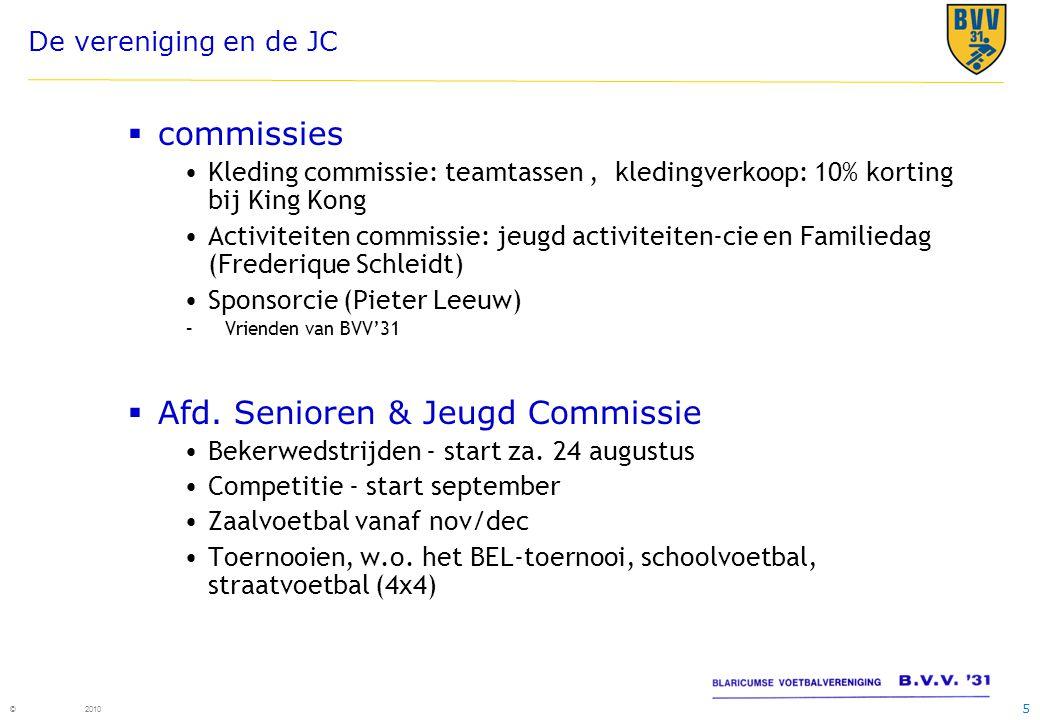 Afd. Senioren & Jeugd Commissie
