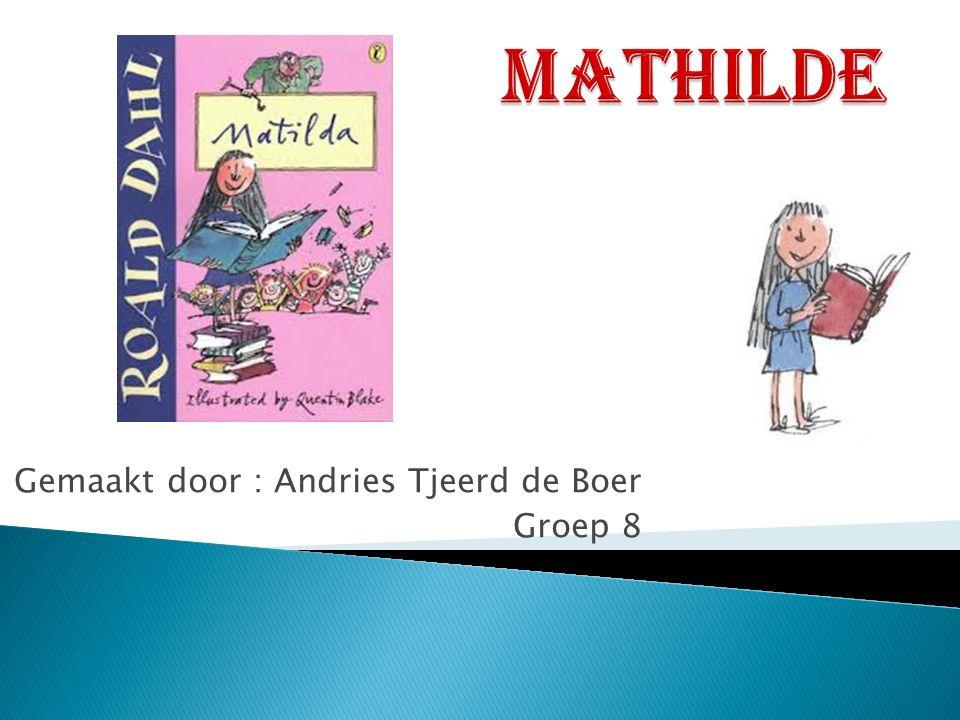 Gemaakt door : Andries Tjeerd de Boer Groep 8