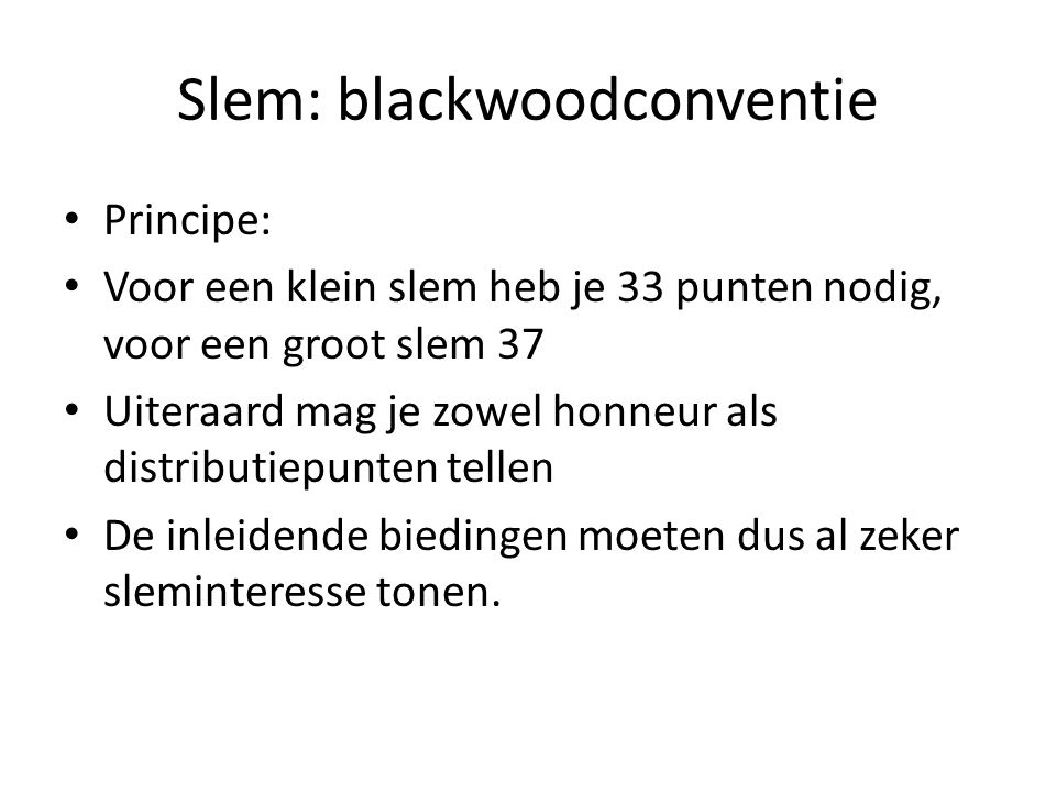 Slem: blackwoodconventie