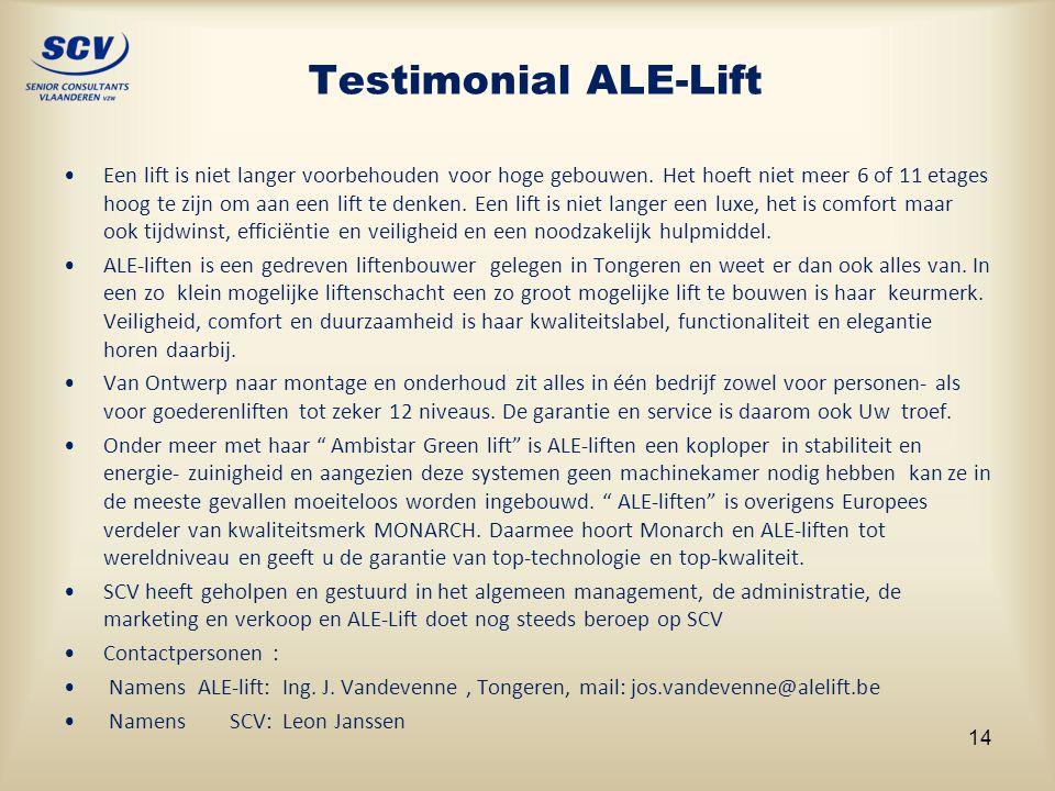 Testimonial ALE-Lift