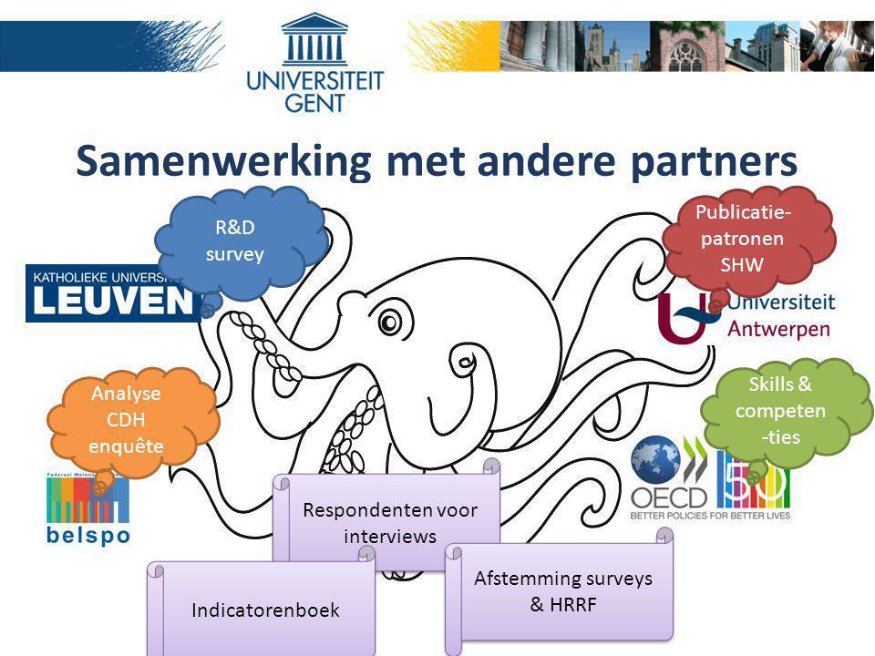Samenwerking met andere partners