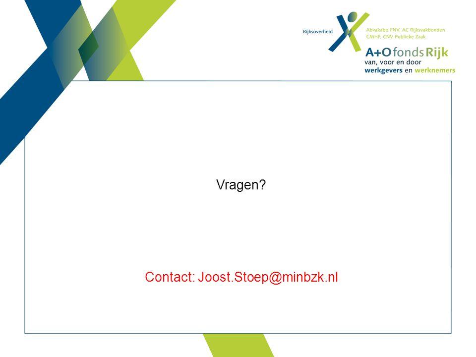 Contact: Joost.Stoep@minbzk.nl