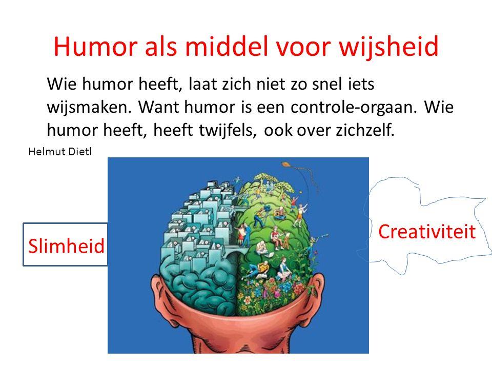 Humor als middel voor wijsheid